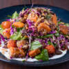 Roasted Pumpkin and Goat Cheese Salad