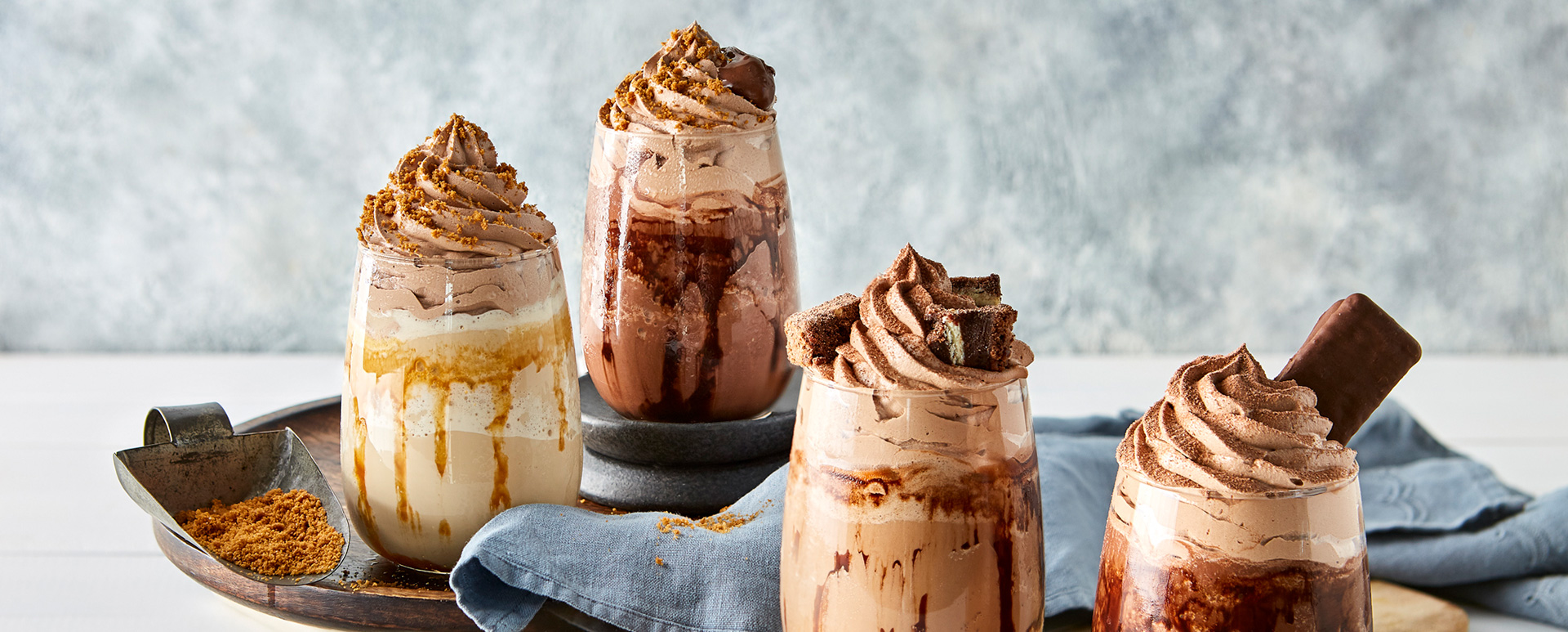 Chocolate FRAPPÉS - THE COFFEE CLUB